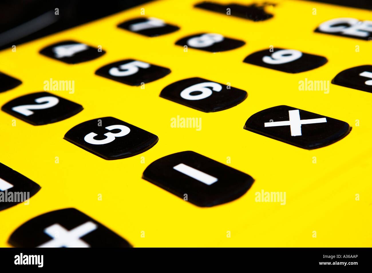 Calculate, calculator, divide, minus, plus, smartphone, times icon.