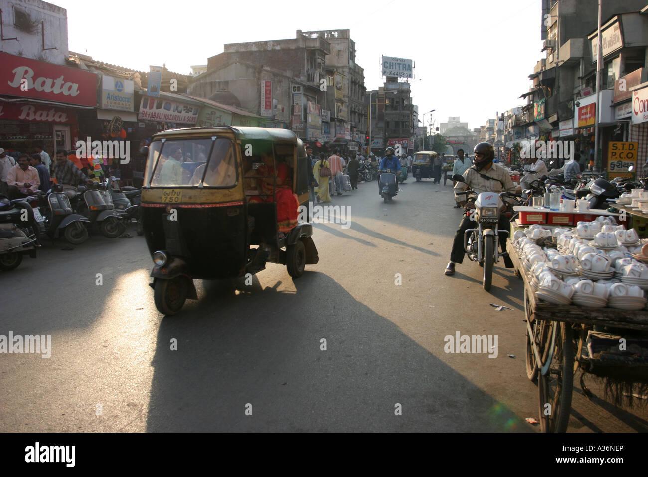 Three wheeler - Stock Image