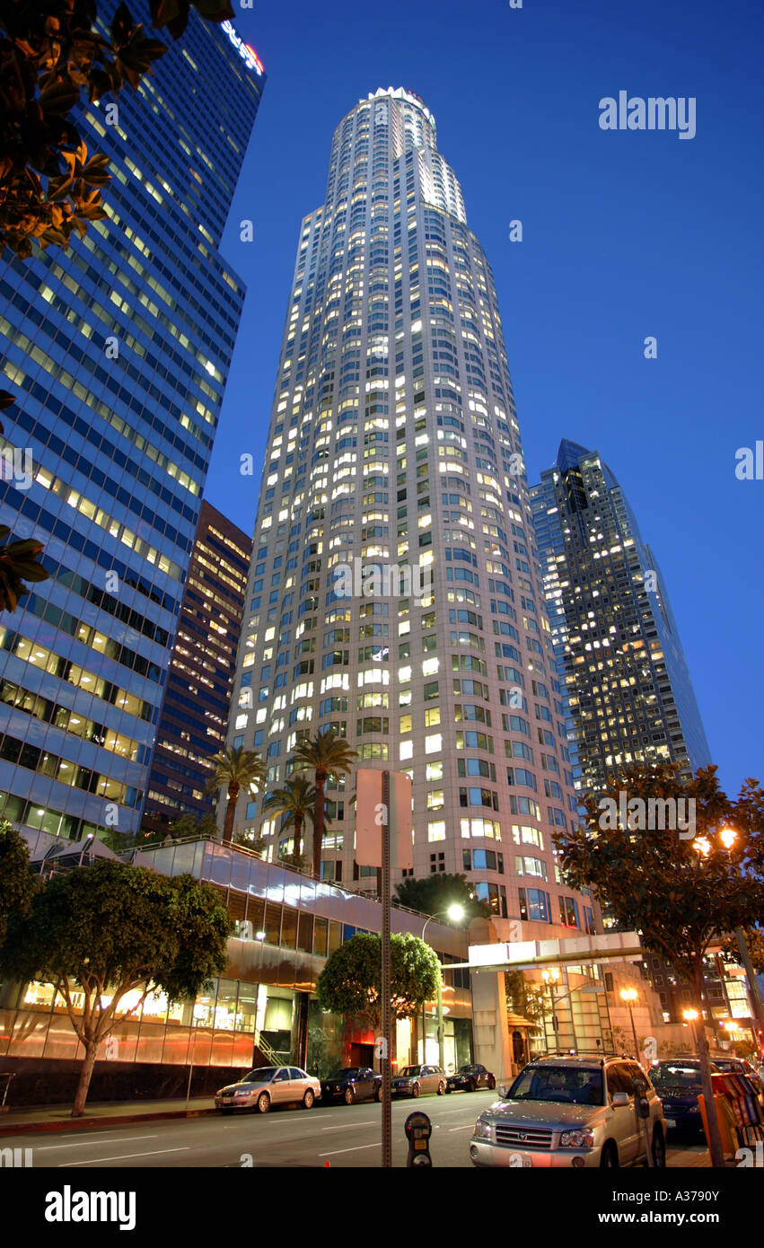 US Bank Tower in Los Angeles - Stock Image