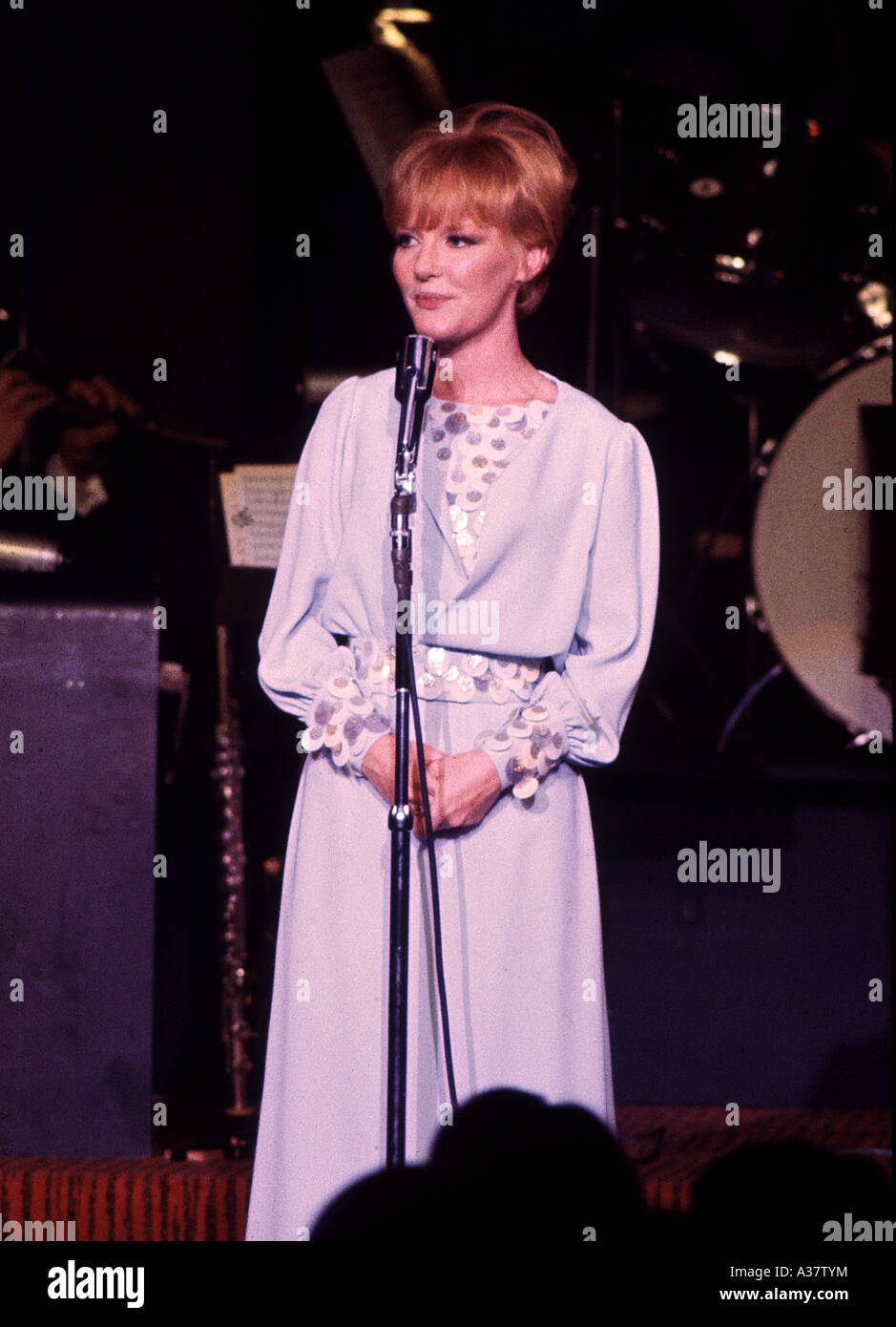 PETULA CLARK   UK singer about 1975 Stock Photo
