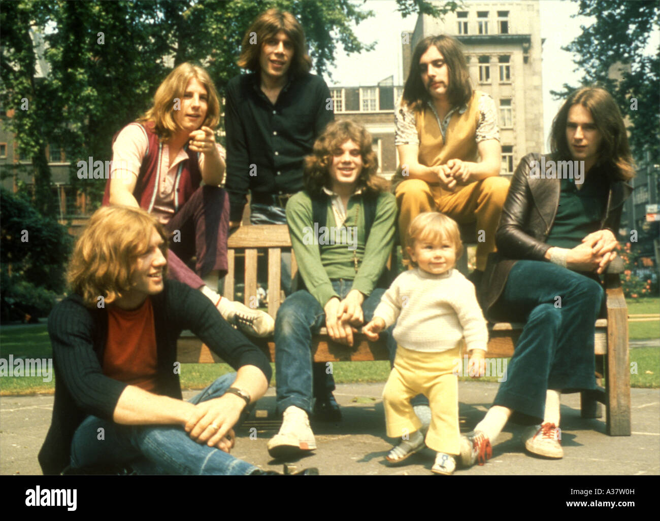 STATUS QUO UK group in about 1968 Stock Photo