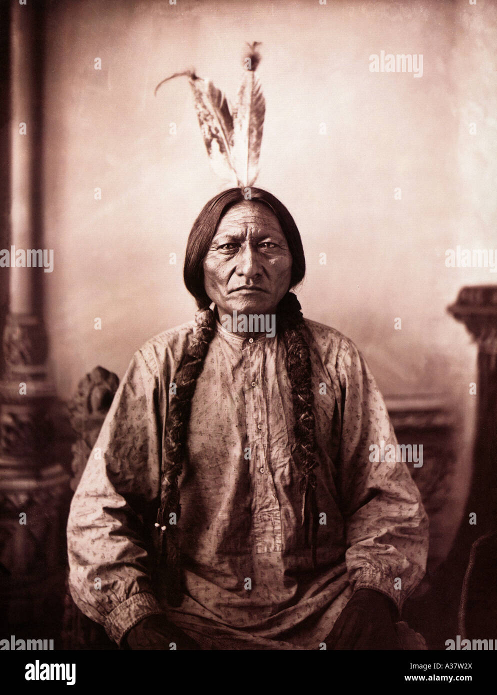 SITTING BULL Native American warrior c 1834 to 1890 Chief of