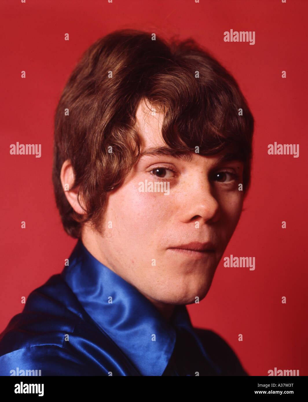 STATUS QUO - UK group - Alan Lancaster in 1968. Photo Tony Gale - Stock Image