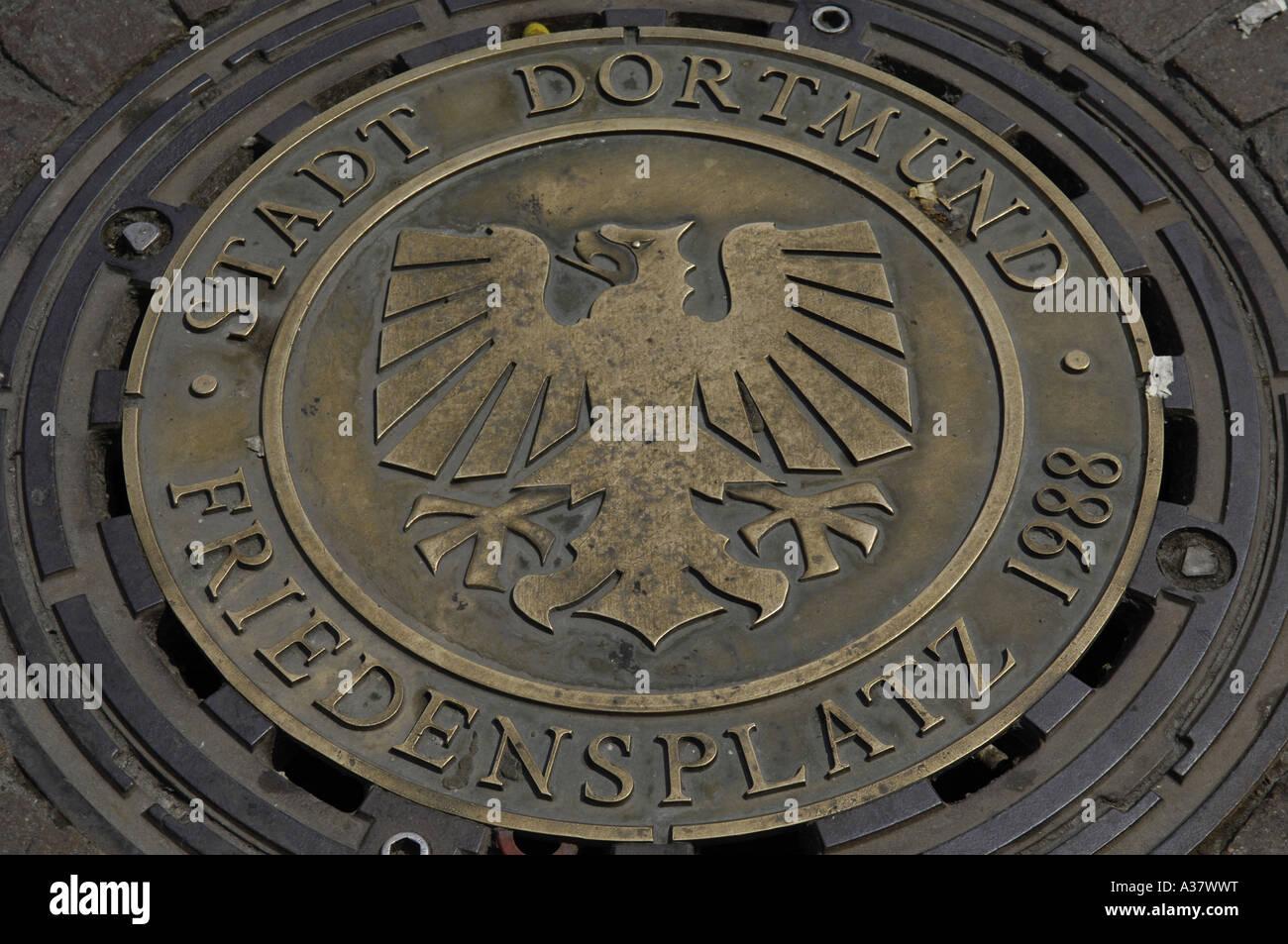 stadt dortmund friedenplatz 1998 germany german deutsch deutschland ...