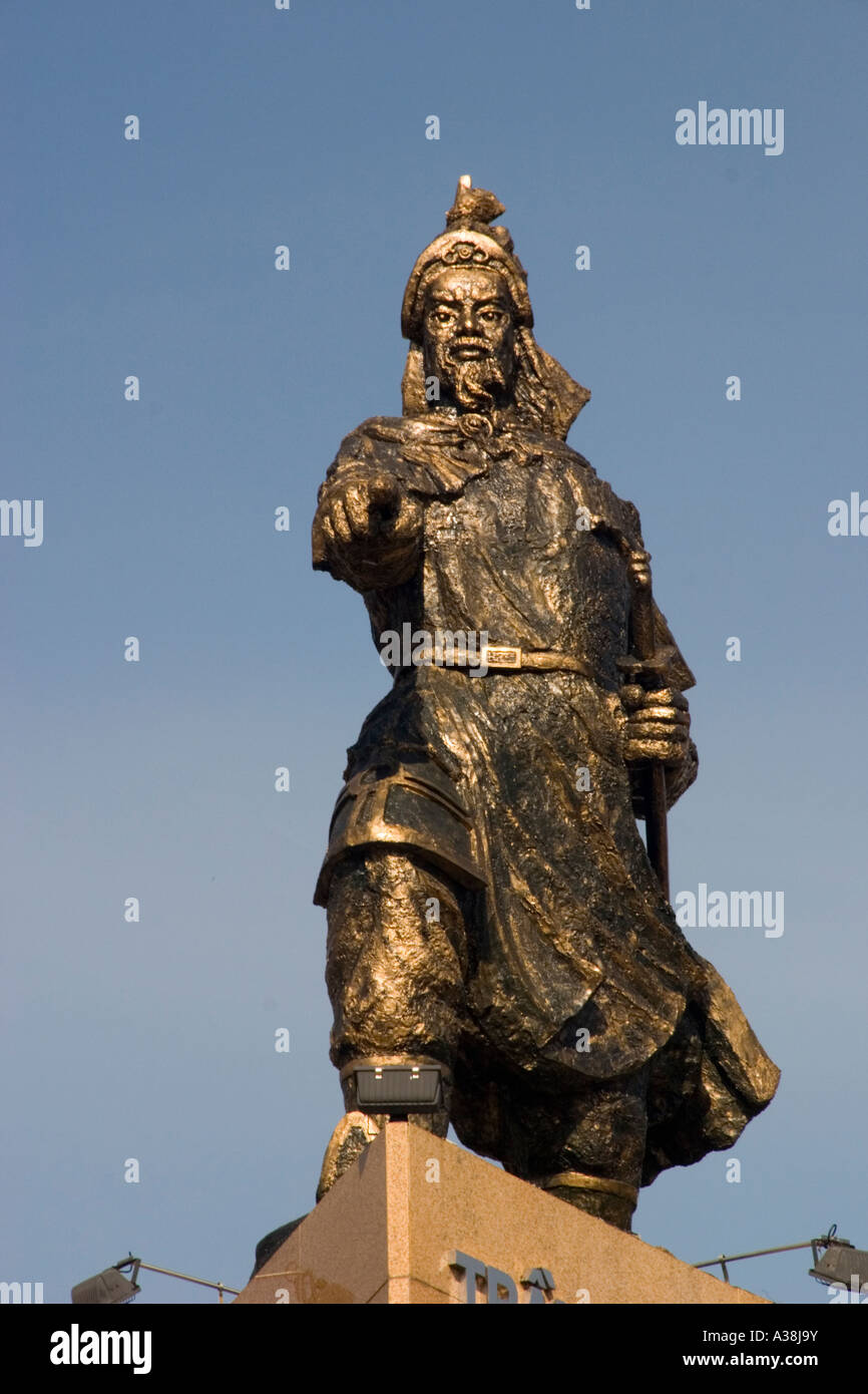 The Statue Of Tran Hung Dao In Saigon Stock Photo Alamy