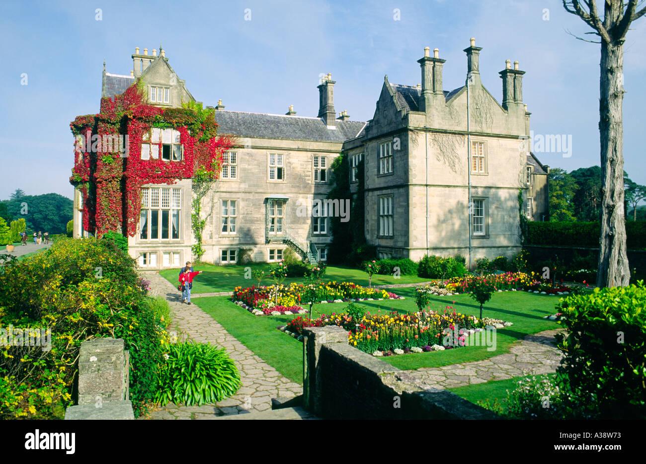 Muckross House on the Lakes of Killarney, County Kerry, Ireland - Stock Image