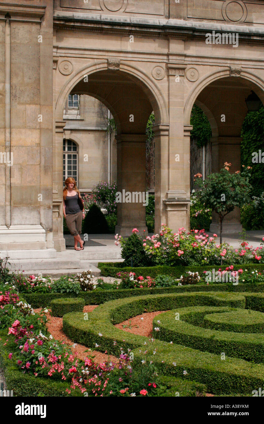 Carnavalet Museum in Paris - Stock Image