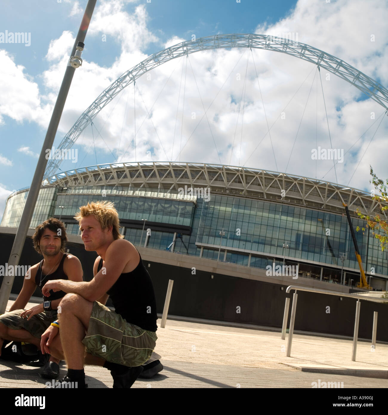 Wembley Stadium London England UK Stock Photo