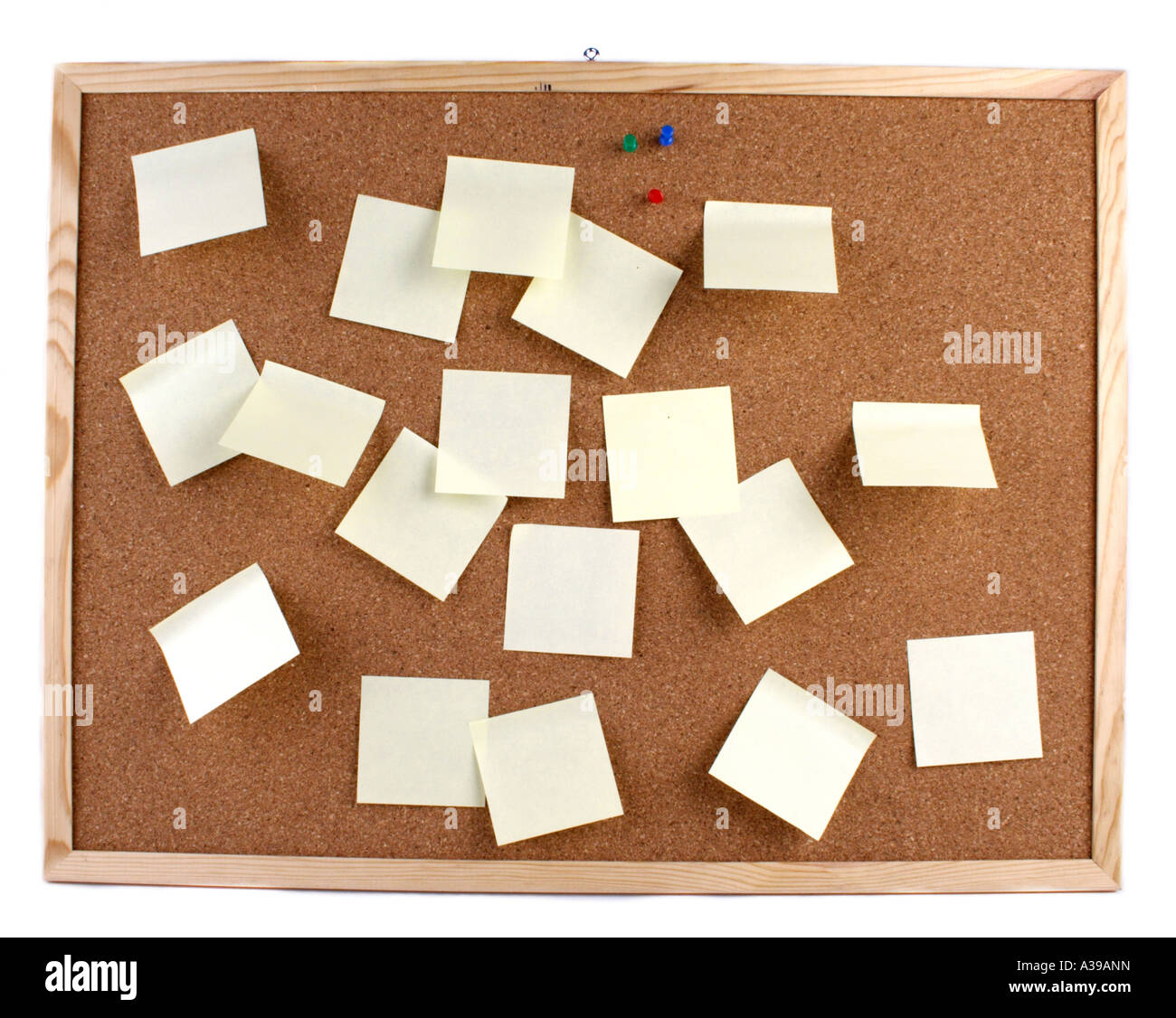 Noticeboard - Stock Image