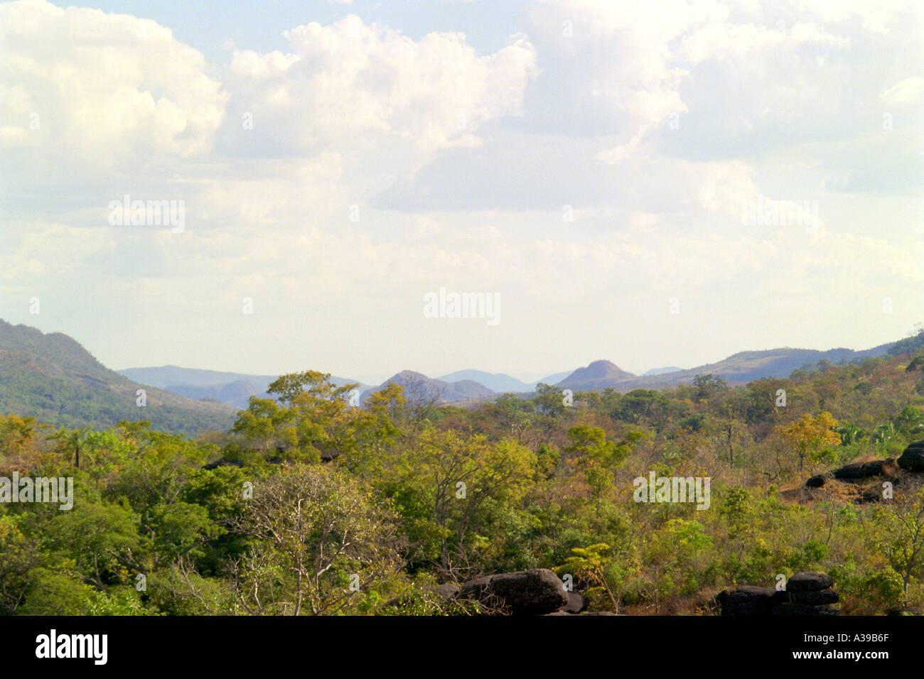 Parque Nacional da Chapada dos Veadeiros - Stock Image