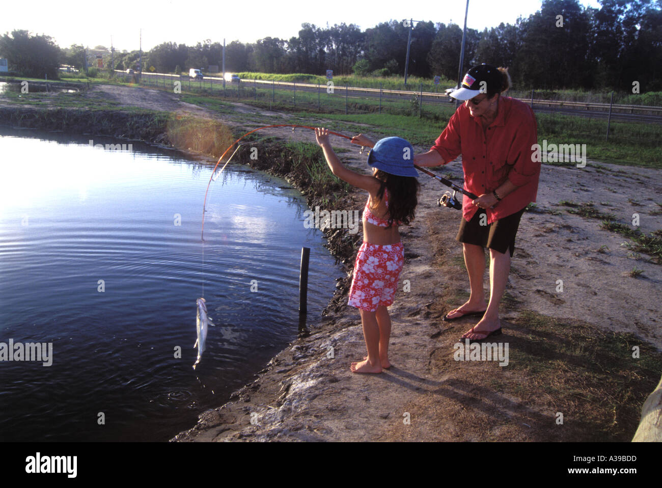 Zippy Fishing 0204 Stock Photo