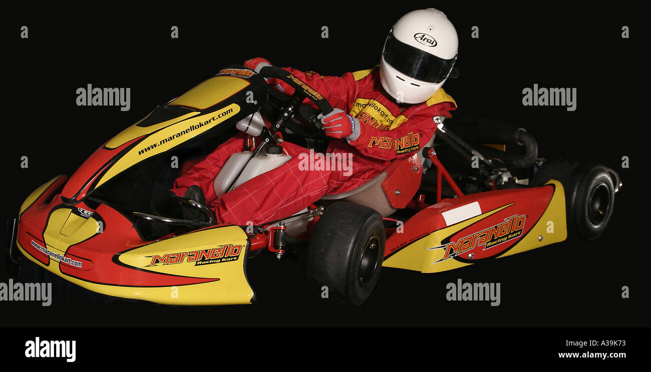 Maranello kart minimax class studio setup Stock Photo