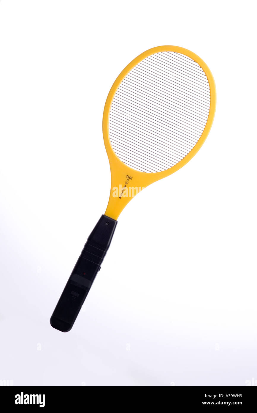 Hand Powered Light Stock Photos Images Mosquito Swatter Bat Circuit Homemade Projects Electric Fly Using High Voltage Generated By Battery Within Handle Image