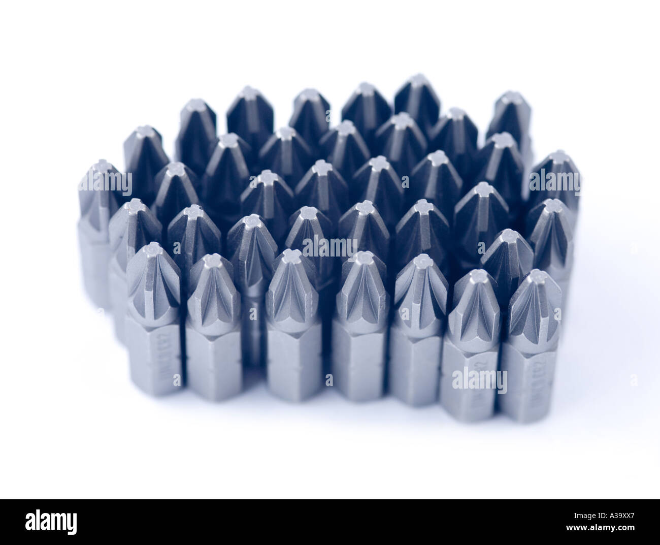 screwdriver bits - Stock Image