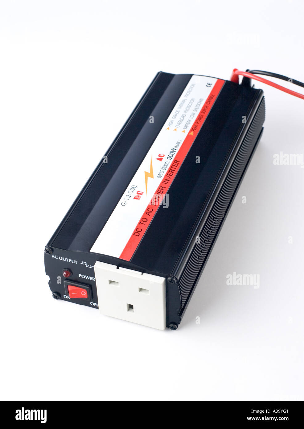 12 Volt Stock Photos Images Alamy Dc To Ac Power Inverter Invertor Powered By A Lead Acid Battery Giving 240 Volts Output