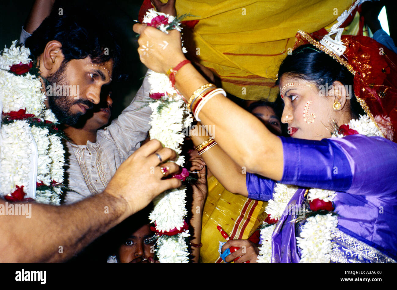 d94624d4fc67e Calcutta India Hindu Wedding Bride Stock Photos   Calcutta India ...