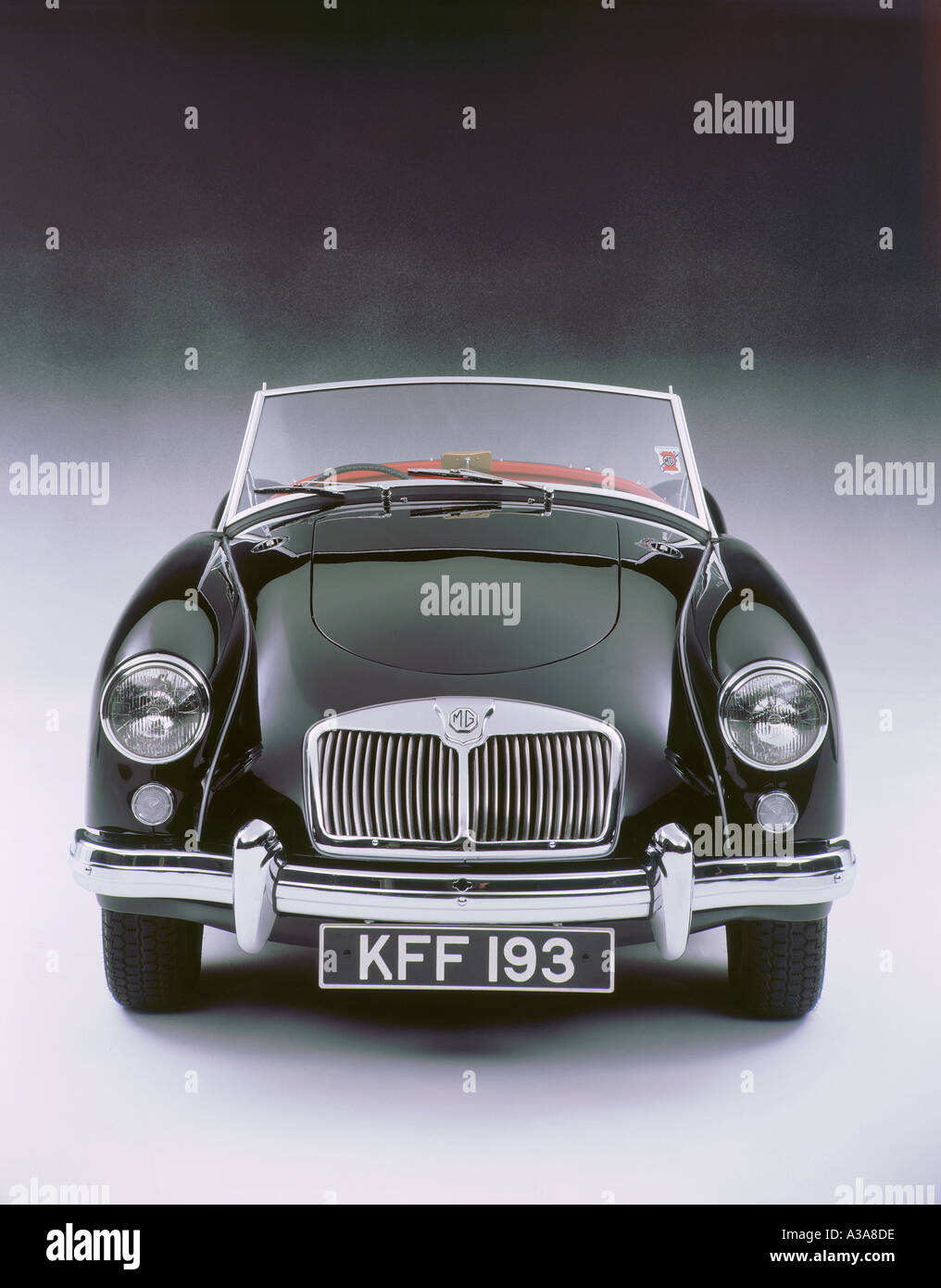 1959 MG A Twin Cam - Stock Image