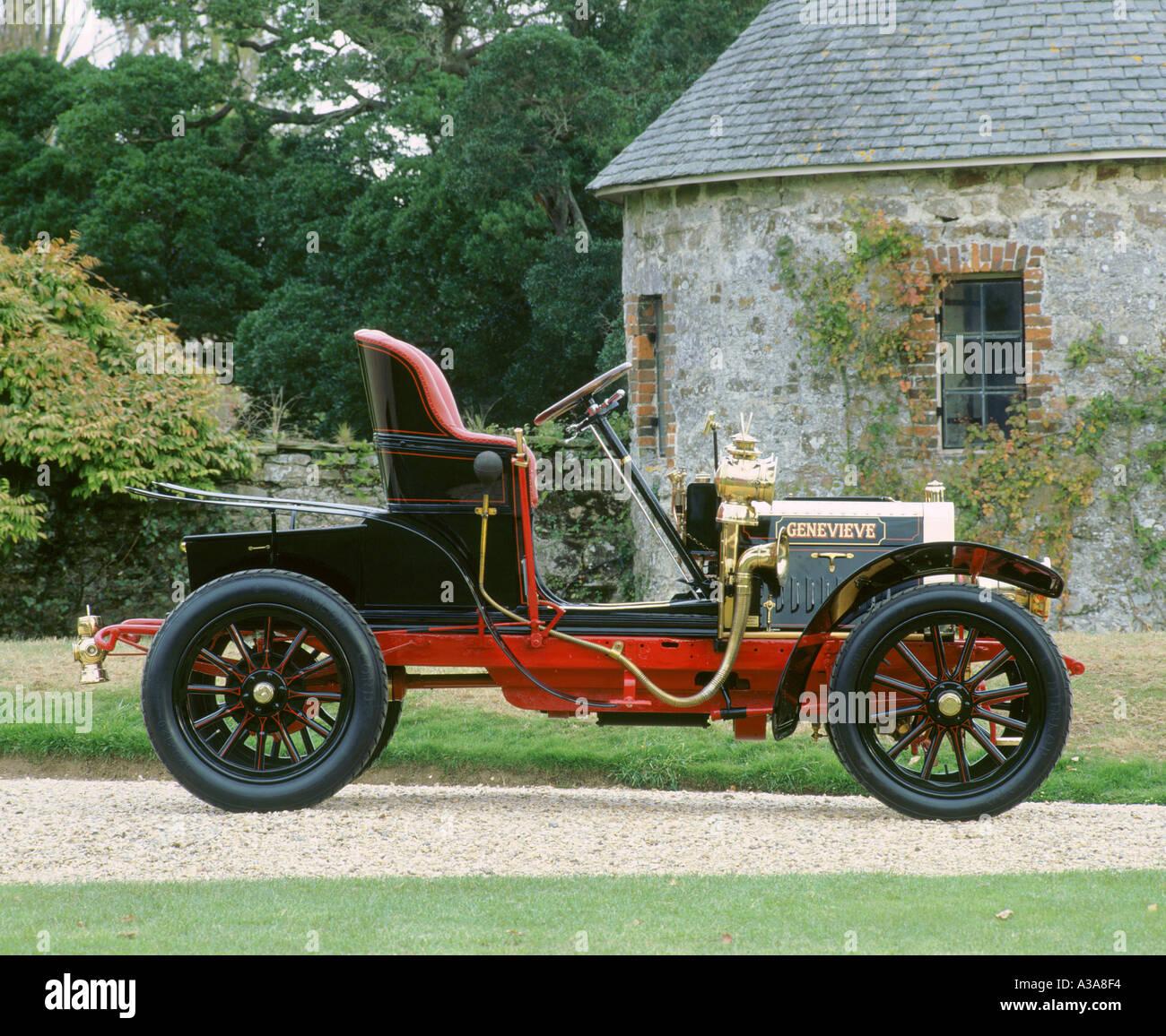 1904 Darracq Genevieve Stock Photo