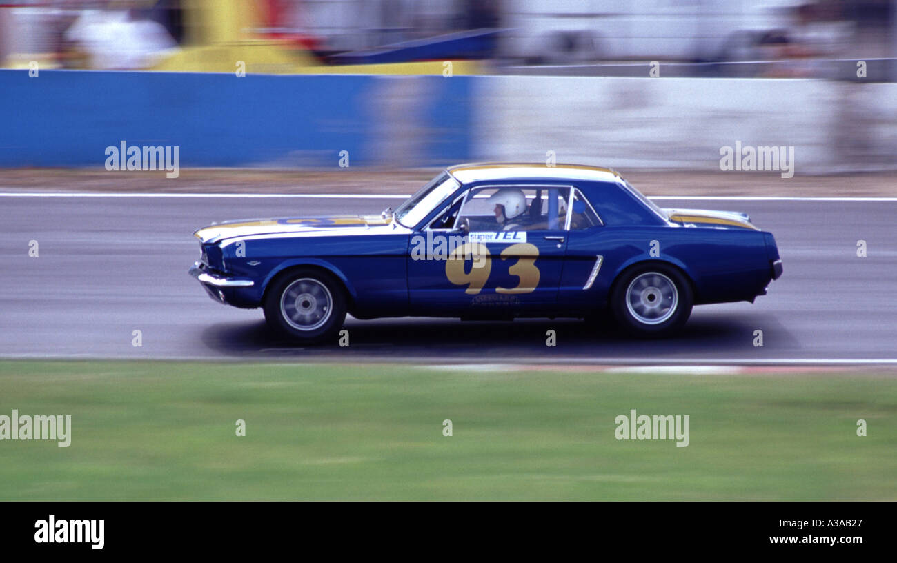 ford mustang 1966 1966 1967 - Stock Image