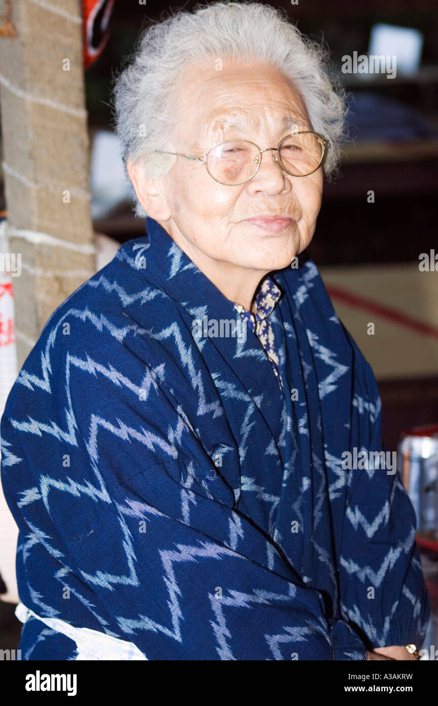 Very old japanese women