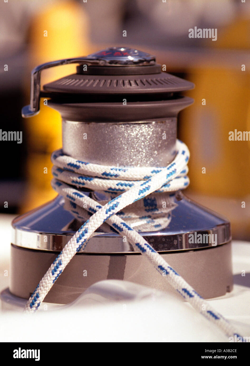 Self Tailing Winch - Stock Image
