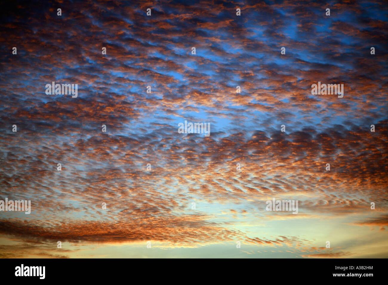 Sunset Patong Beach Phuket Thailand Asia - Stock Image