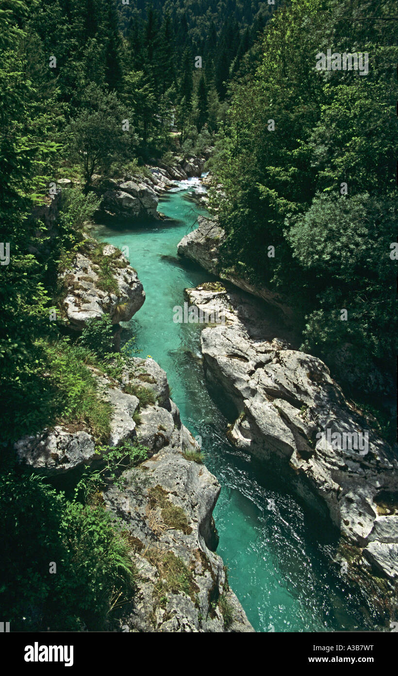 SLOVENIA Trenta Valley - Stock Image
