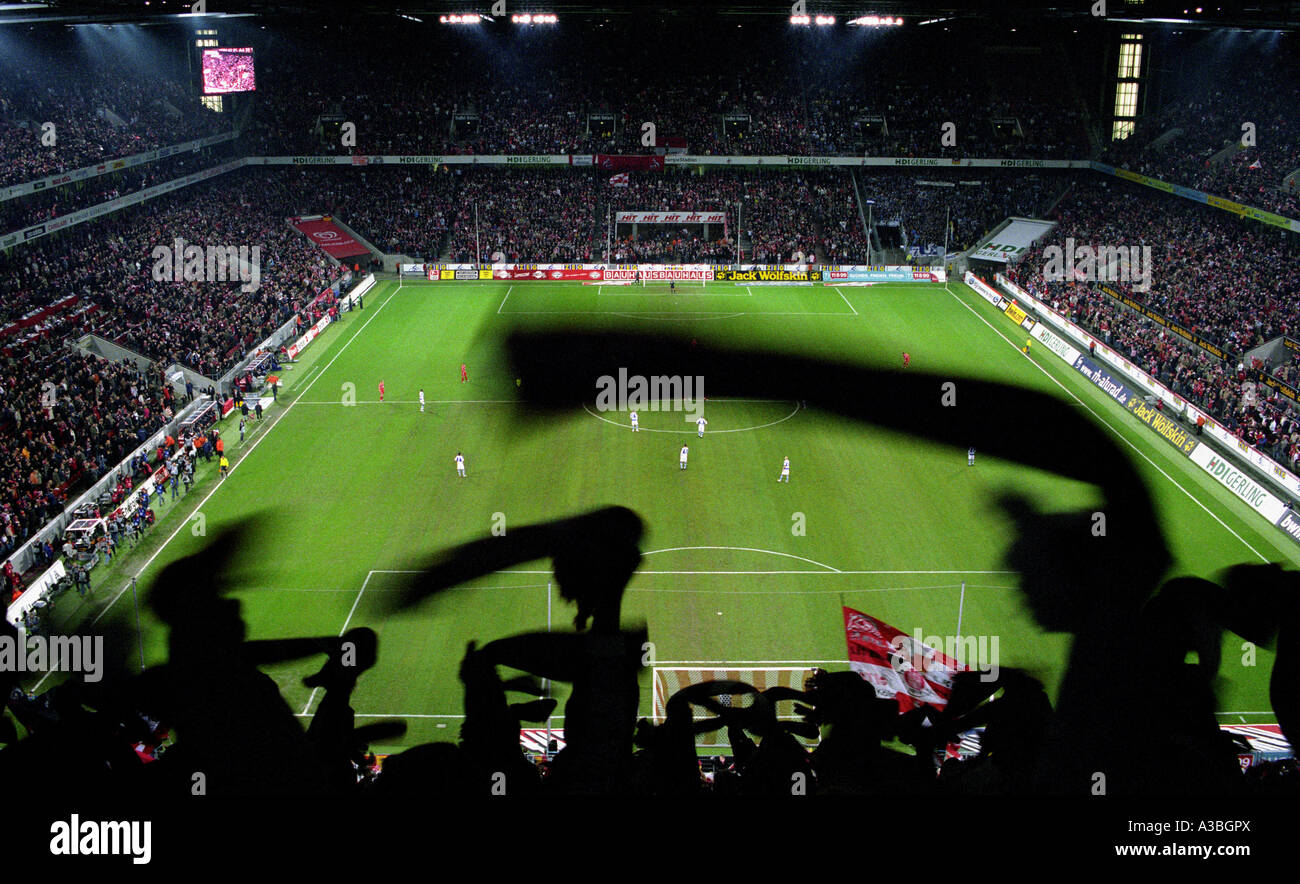 Rhein Energie Stadion, home to FC Cologne, Germany. - Stock Image