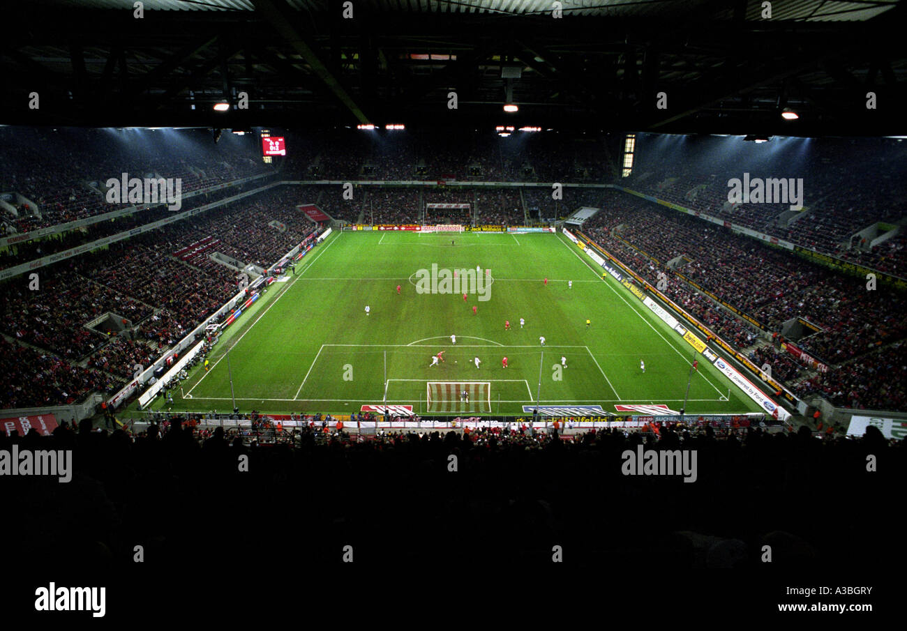 The Rhein Energie Stadion, home to FC Cologne who play in the Bundesliga, Germany. - Stock Image