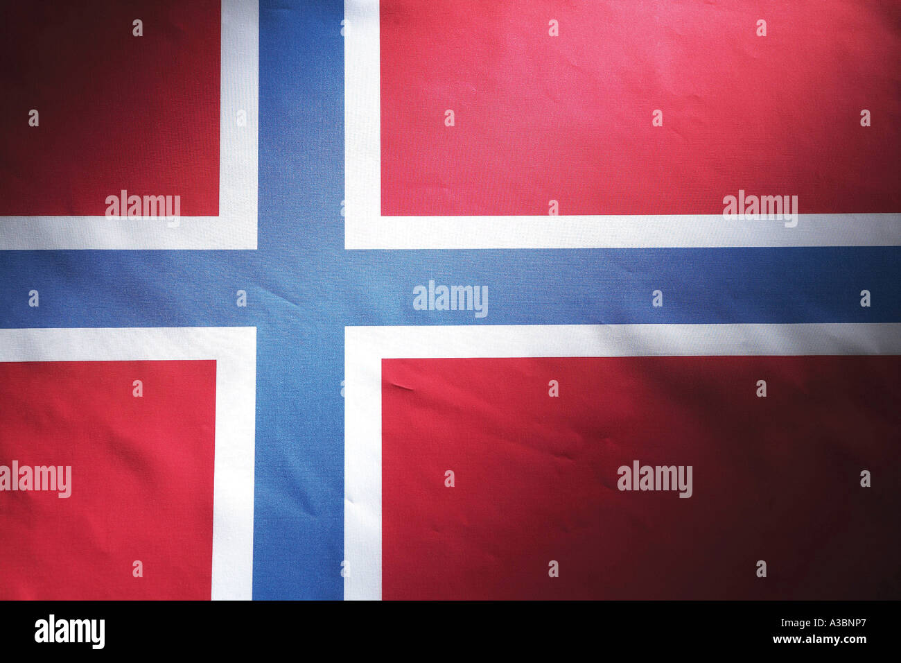 Norway national flag,national flag,Norway,Norwegia - Stock Image