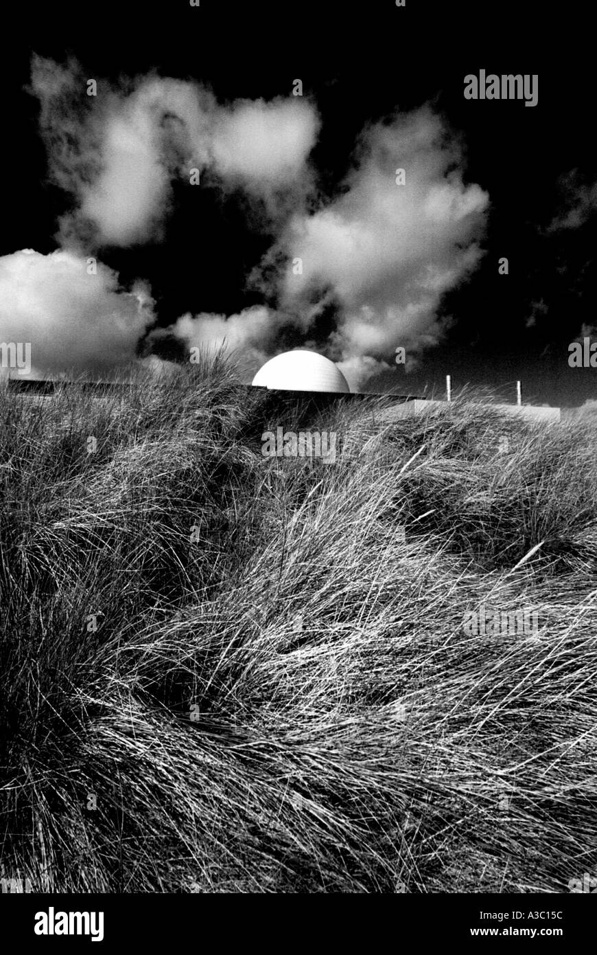 Sizewell B PWR Nuclear Power station on the coast of Suffolk, East Anglia, England. - Stock Image