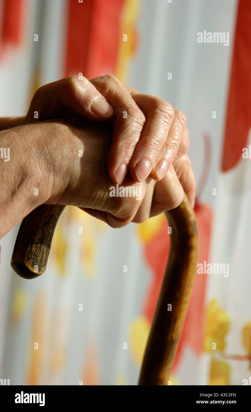 Old age concept - Stock Image