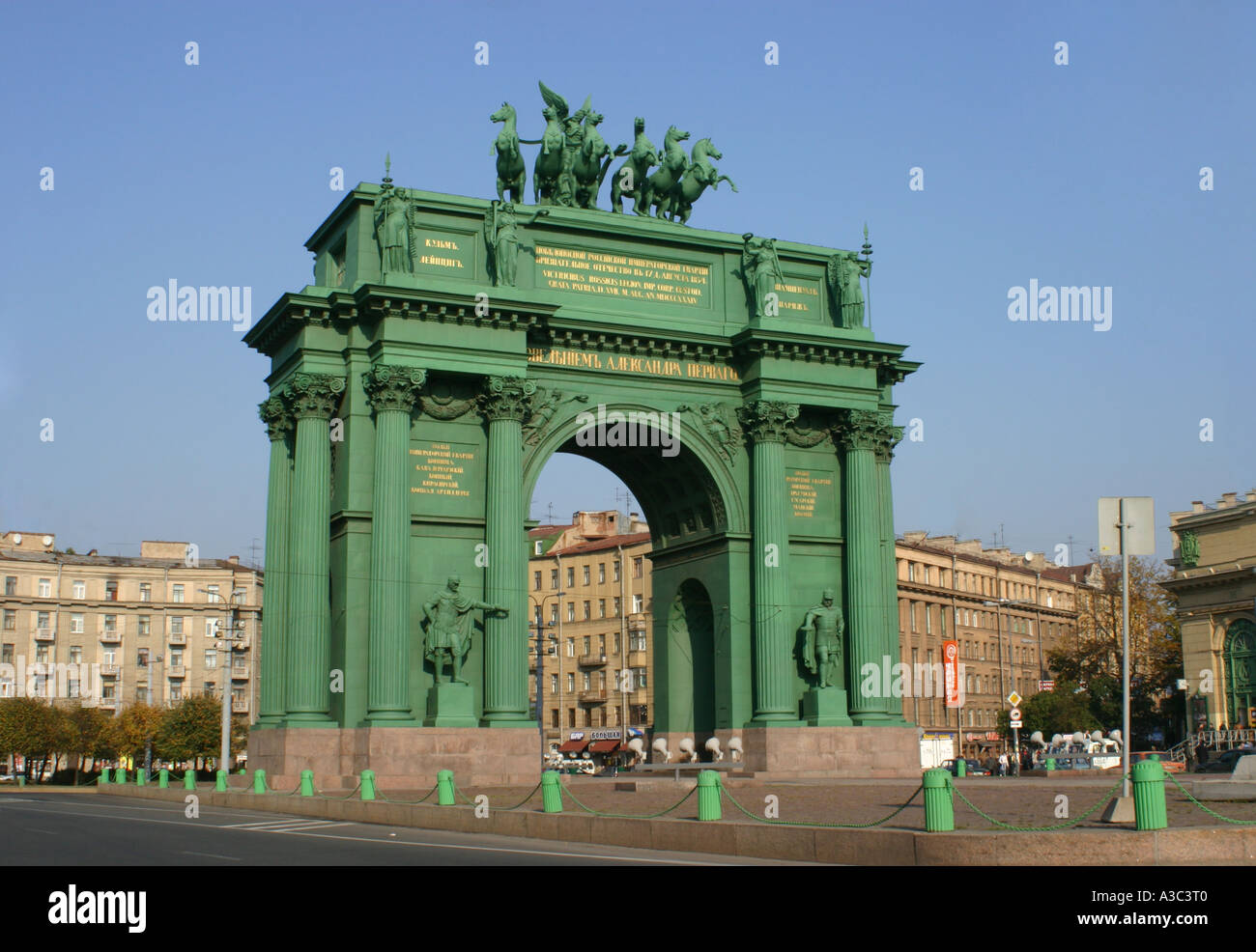 Narva Triumphal Gate in St. Petersburg 44