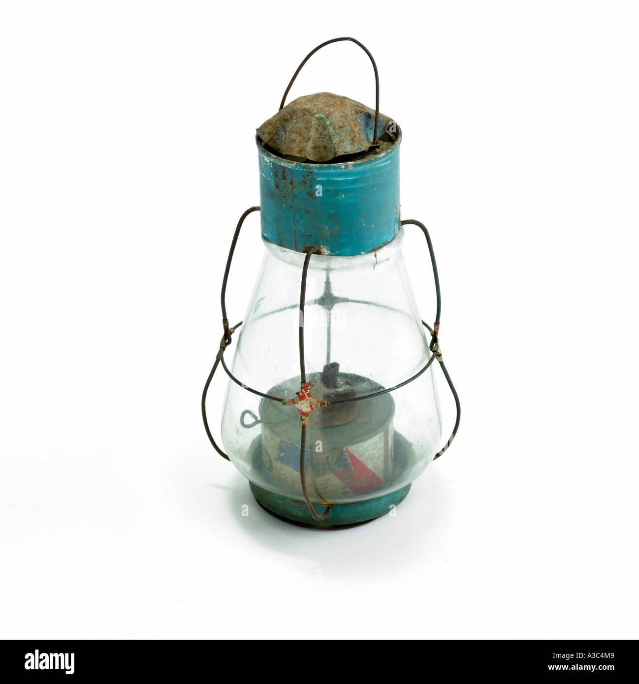 base of a kerosene lamp,object,antique,living arti - Stock Image