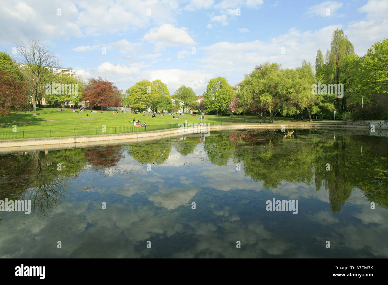 Volkspark at the Weinberg, Germany, Berlin - Stock Image
