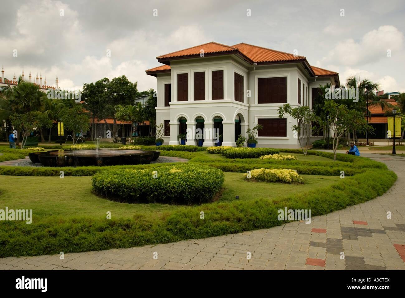 Istana Kampong Glam, Singapore - Stock Image