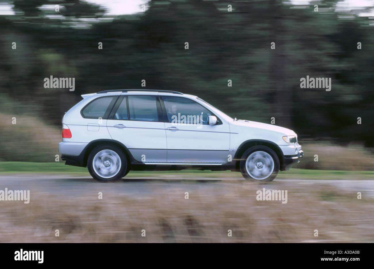 2001 BMW X5 4.4i - Stock Image
