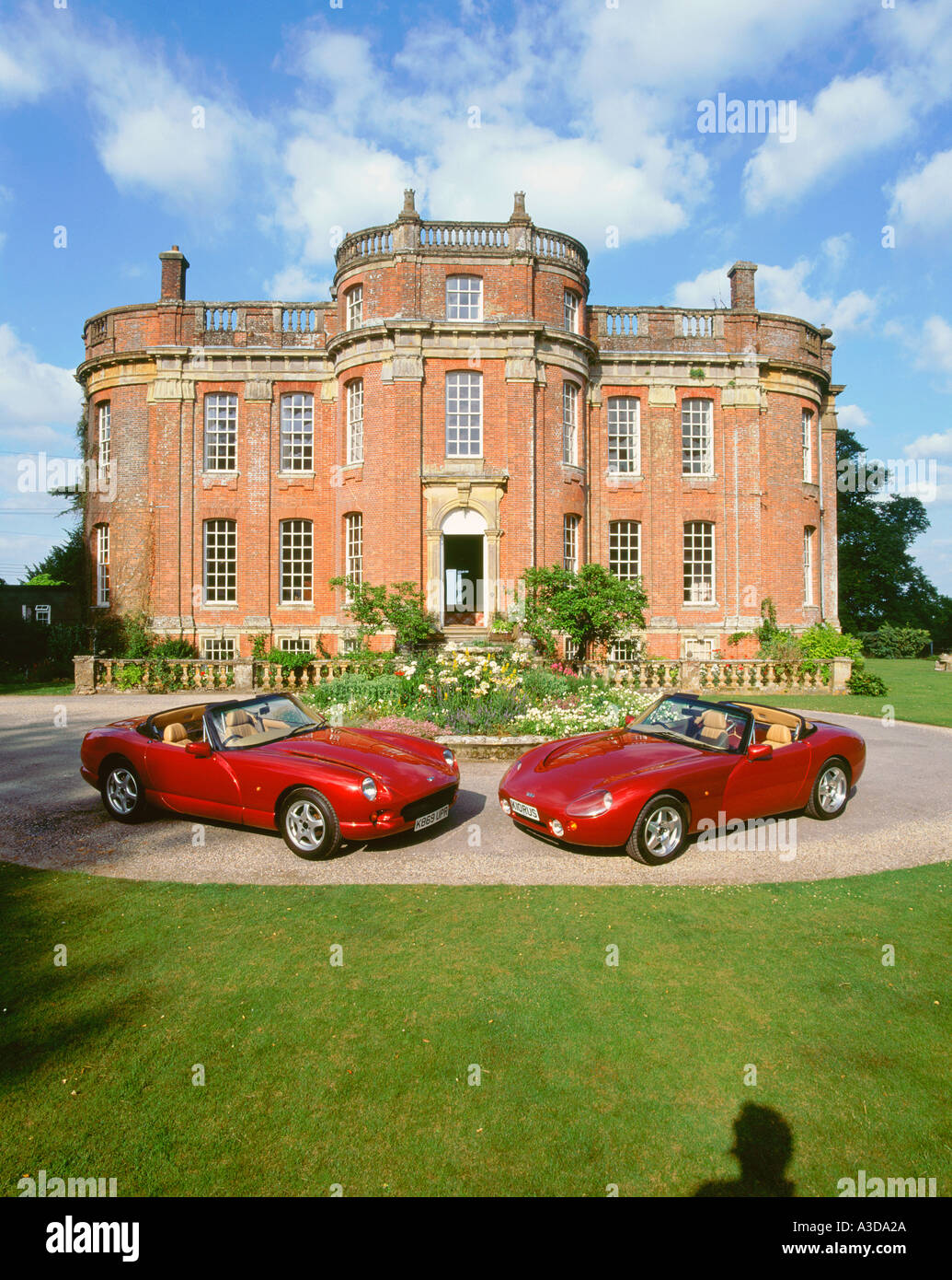 1993 TVR Griffith with1993 TVR Chimaera - Stock Image