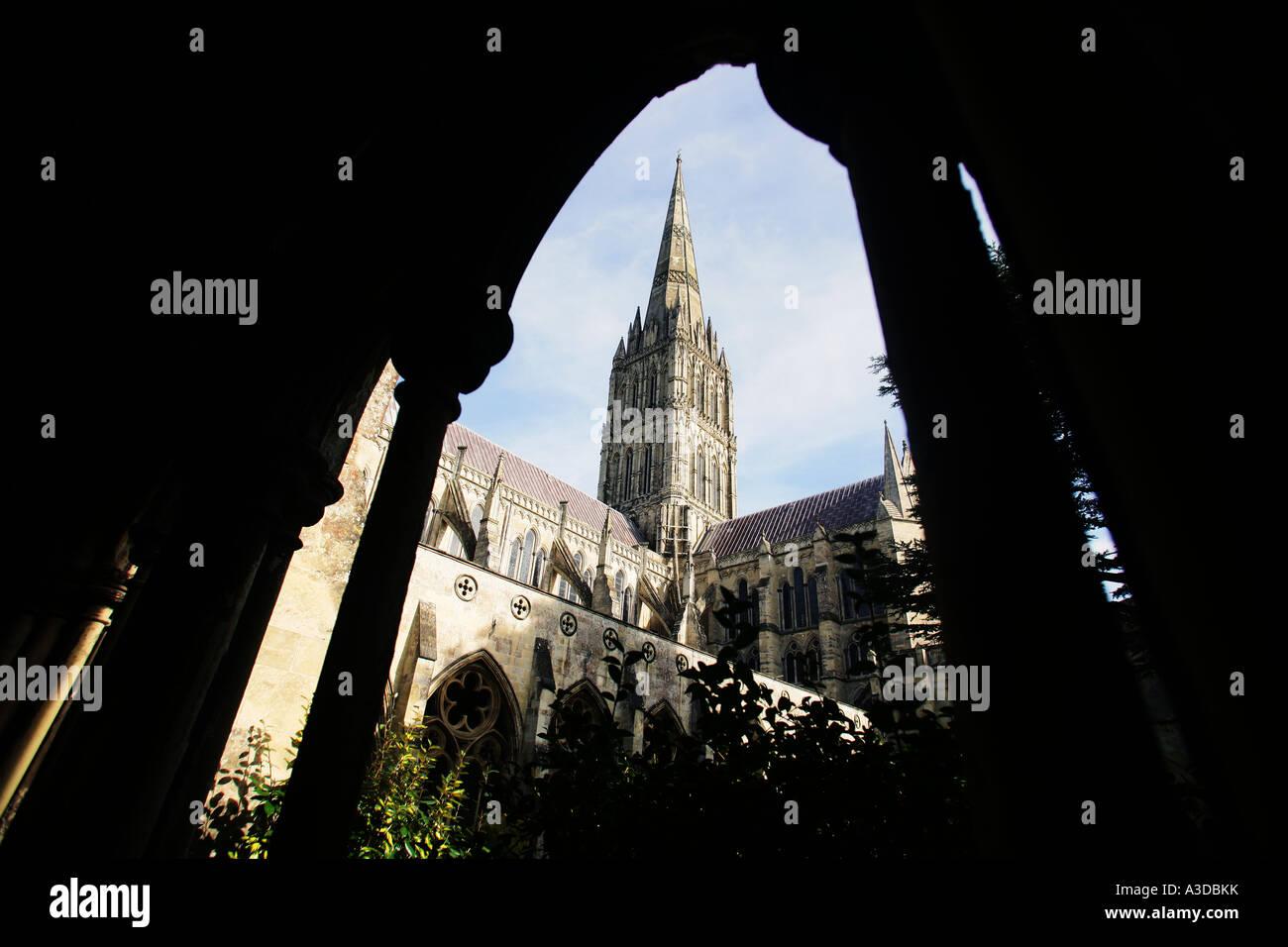 Salisbury cathedral - Stock Image