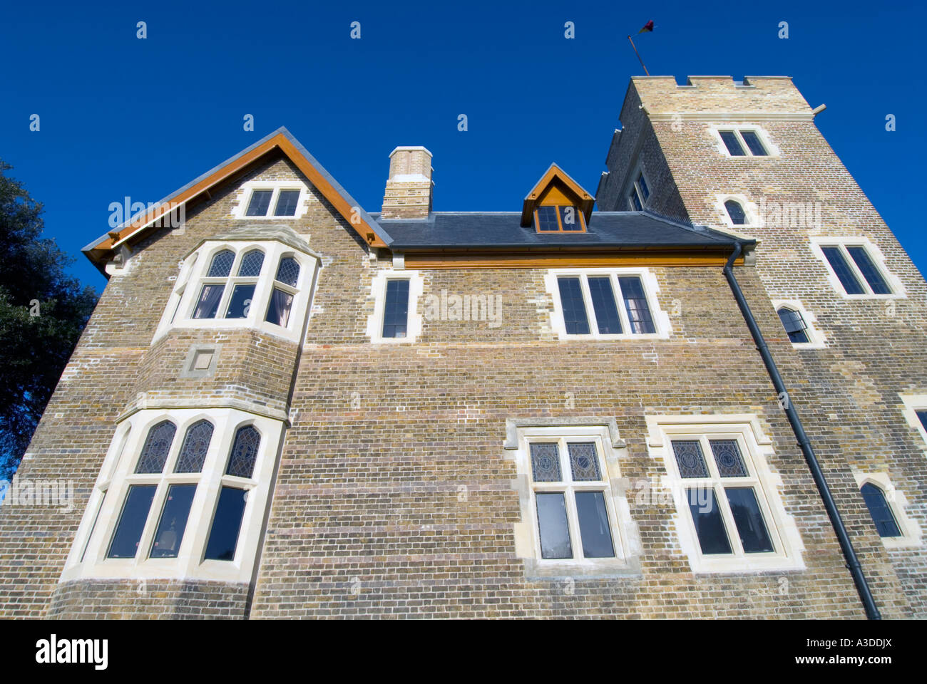 The Grange Ramsgate. Home of the famous Victorian architect Augustus Welby Pugin - Stock Image