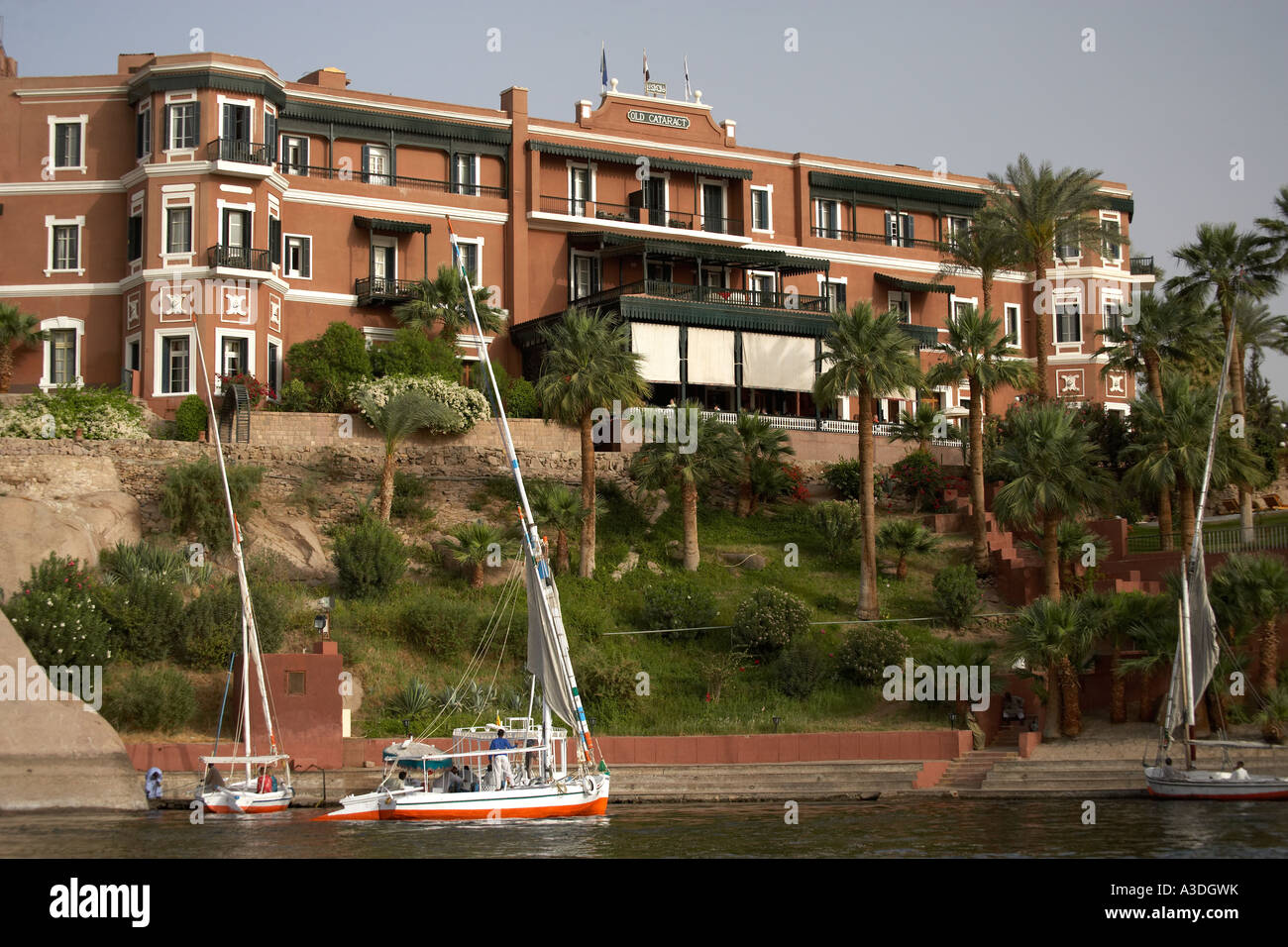 Old Cataract Hotel Aswan Egypt Stock Photo 10752750 Alamy