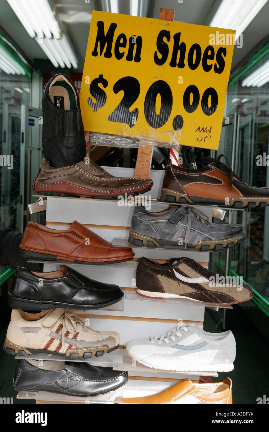 Display Shoes Prices Stock Photos Display Shoes Prices Stock