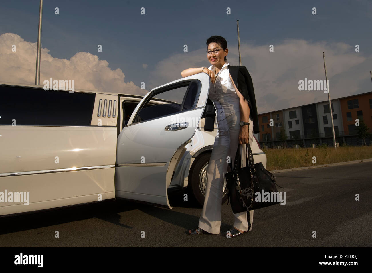 Maker of MCM handbags Sun Yo Kim Stock Photo