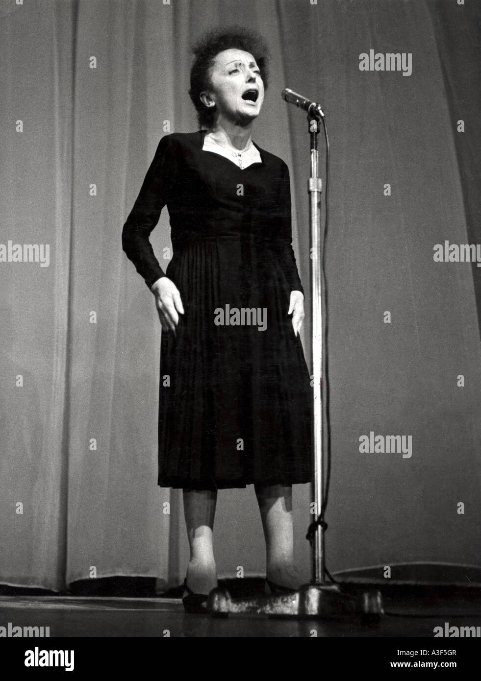 EDITH PIAF French singer - Stock Image