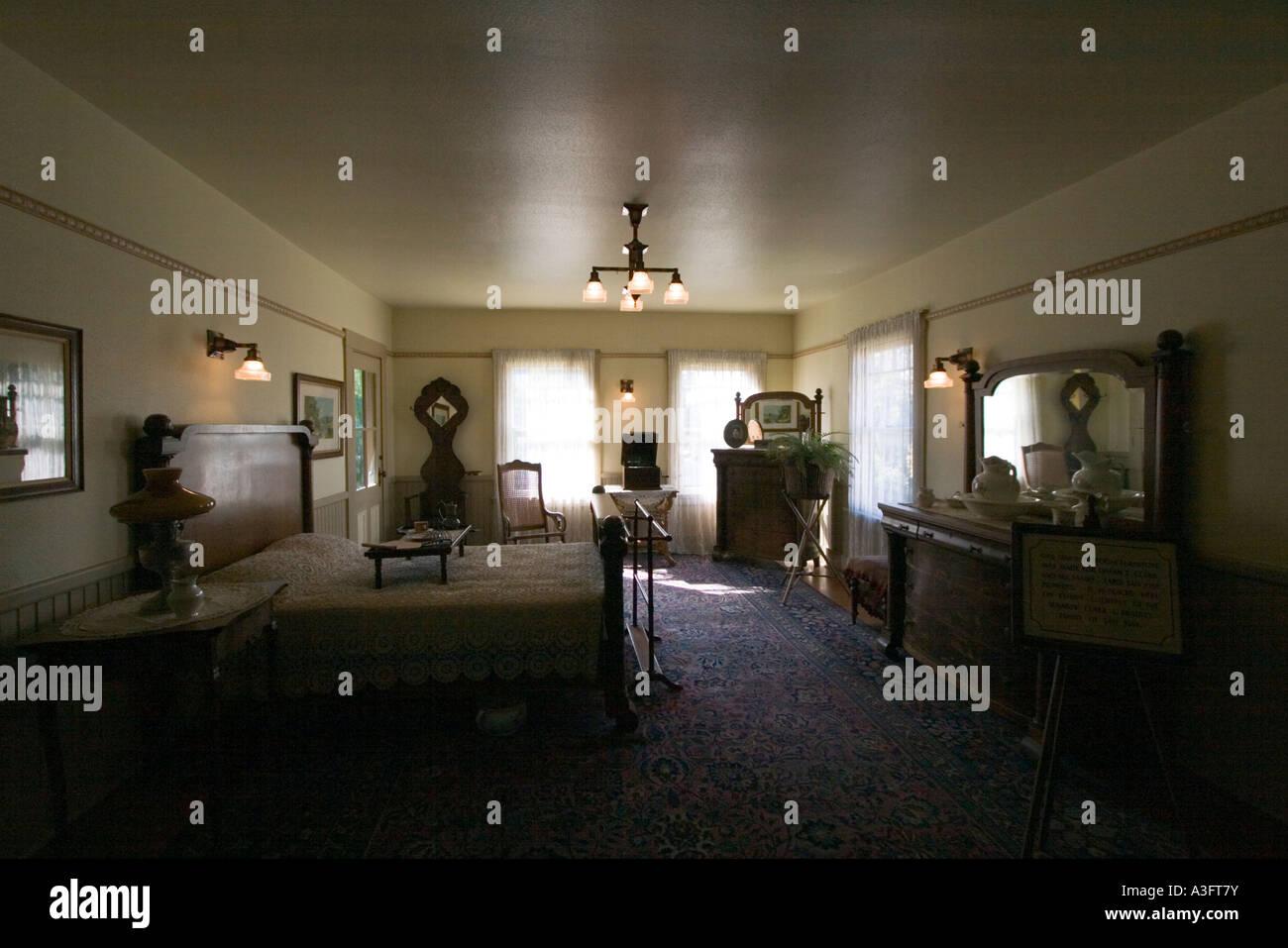 san jose california usa interior of the winchester mystery house