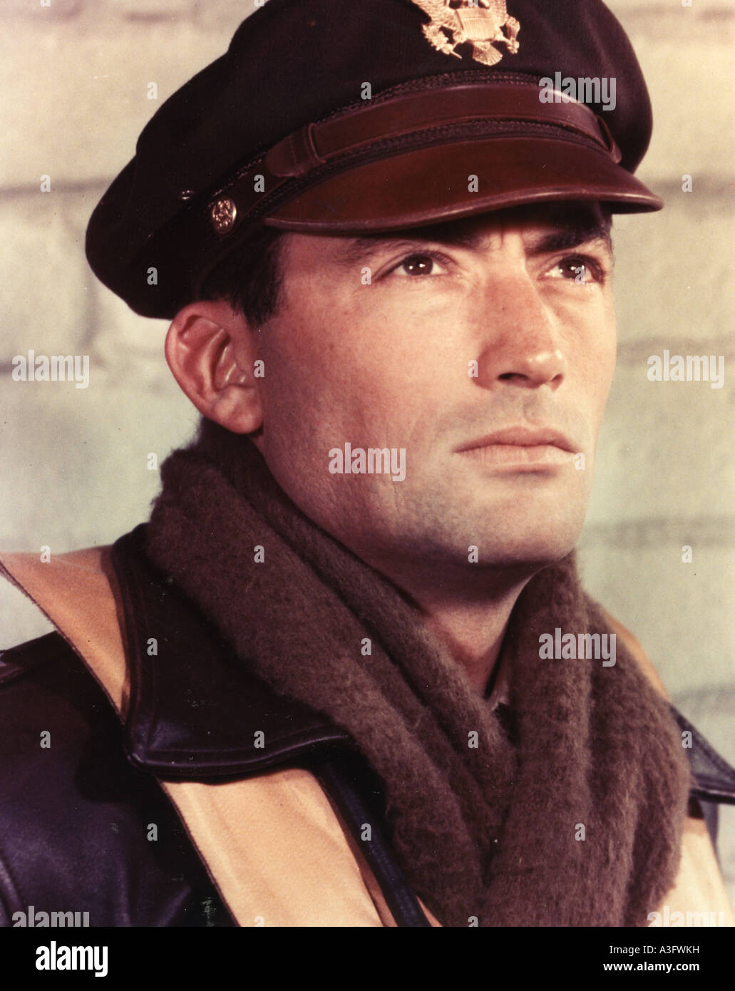 TWELVE O'CLOCK HIGH  1949 TCF film  with Gregory Peck - Stock Image