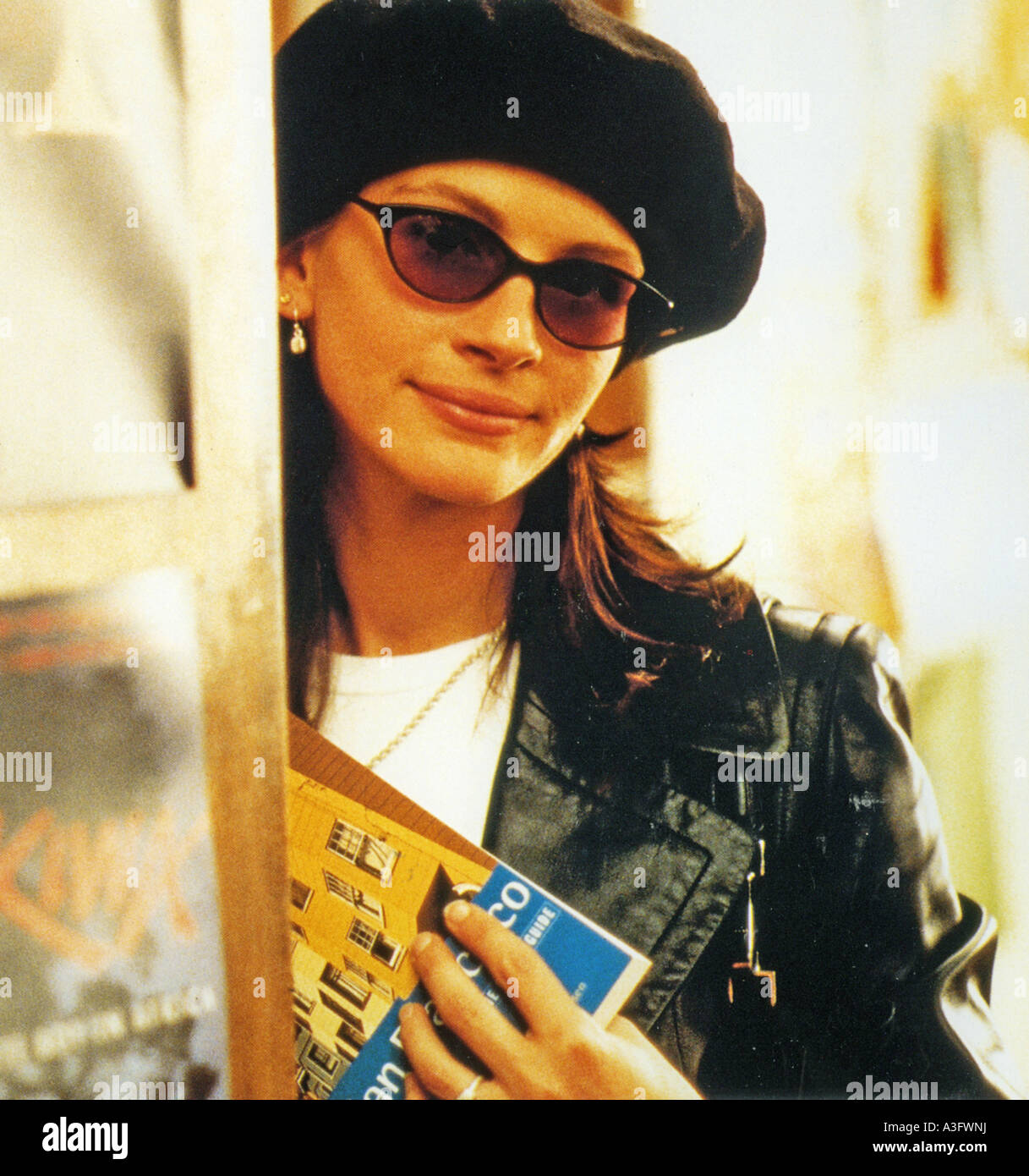 NOTTING HILL  1999 Polygram/Working Title film with Julia Roberts - Stock Image