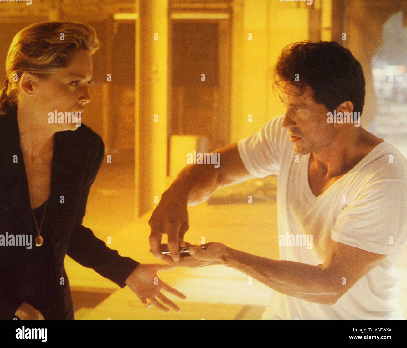 THE SPECIALIST  1994 Warner film with Sylvester Stallone and Sharon Stone - Stock Image