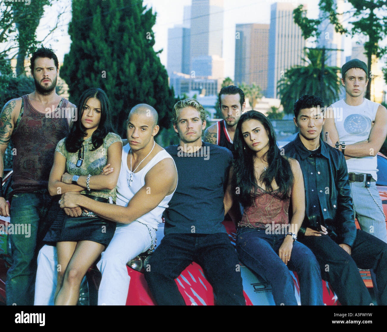 2 FAST 2 FURIOUS Universal 2003 film  about street racers - Stock Image
