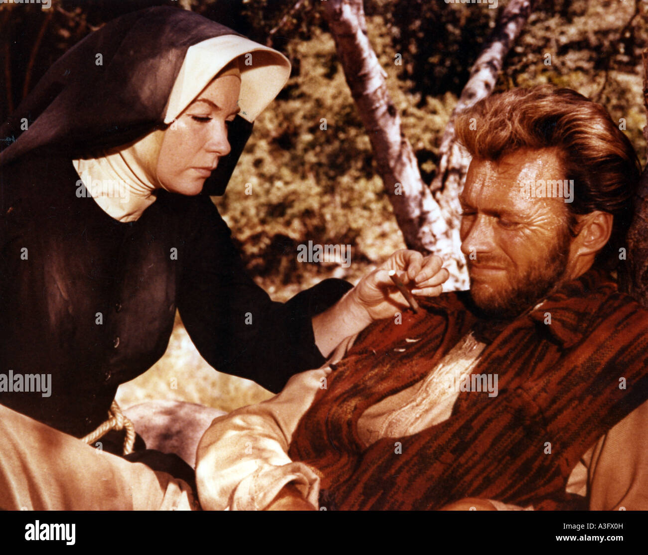TWO MULES FOR SISTER SARA 1969 Universal film with Clint Eastwood and  Shirley Maclaine 38cbe4e5df3